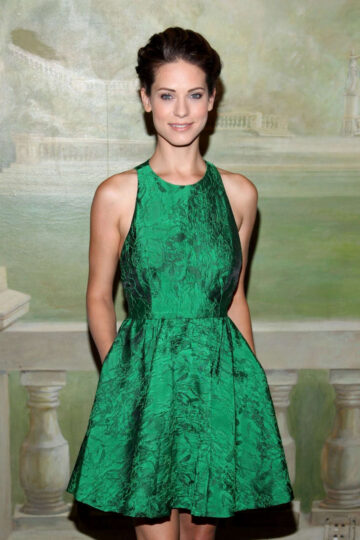 Lyndsy Fonseca Alice Olivia By Stacey Bendet Fashion Show New York