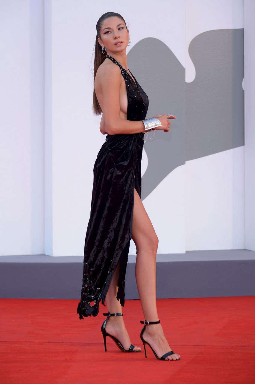 Madalina Dorogtei Never Gonna Snow Again Premiere 77th Venice Film Festival