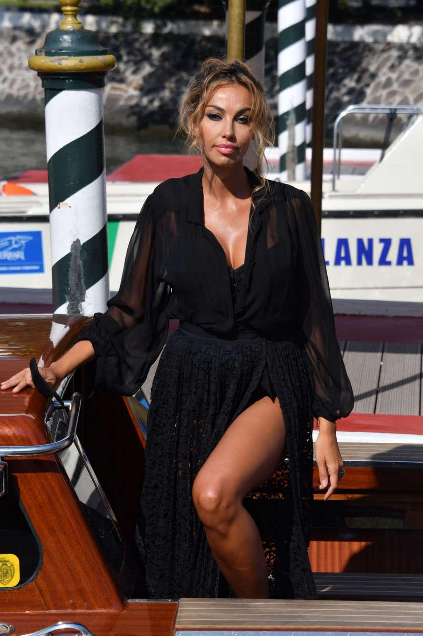 Madalina Ghenea Arrives Hotel Excelsior Venice