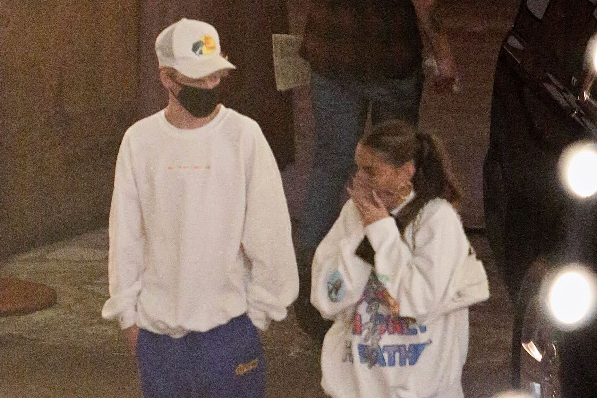 Madison Beer Nick Austin Night Out West Hollywood