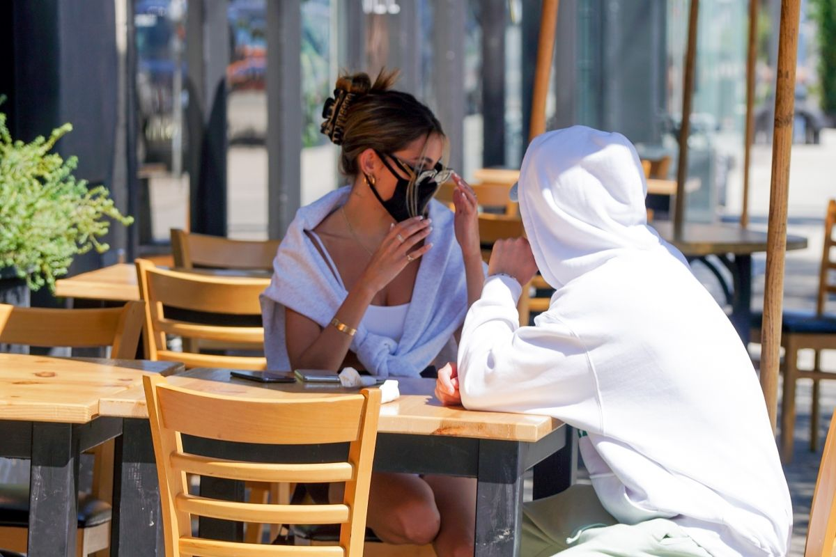 Madison Beer Out Breakfast West Hollywood