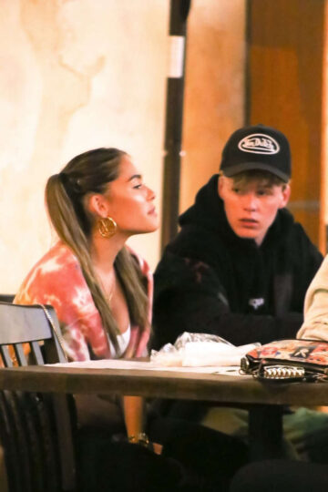 Madison Beer Out For Dinner Saddle Ranch West Hollywood
