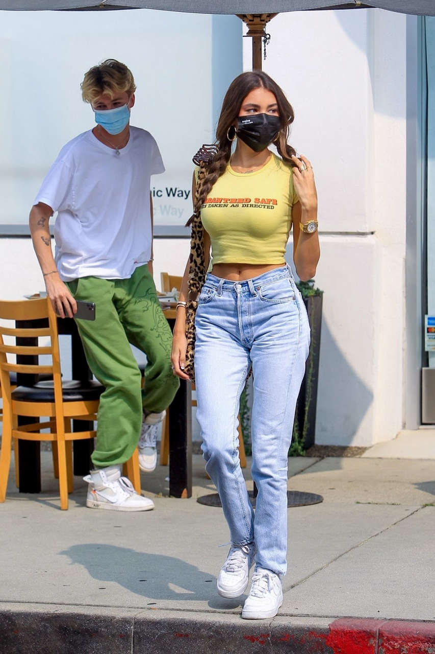 Madison Beer Out For Lunch West Hollywood