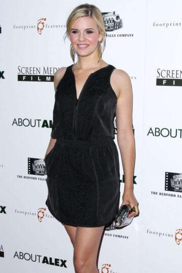 Maggie Grace About Alex Premiere Hollywood