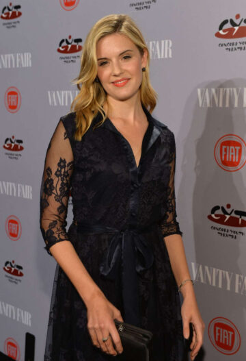Maggie Grace Vanity Fair Fiat Young Hollywood Party Los Angeles