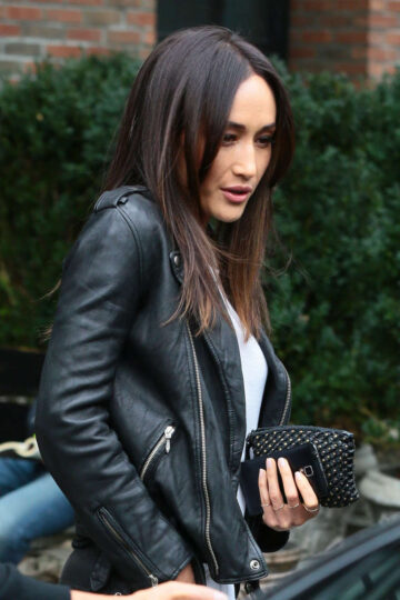 Maggie Q Leaves Bowery Hotel New York