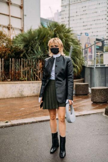 Maisie Williams Arrives Coperni Womenswear Spring Summer 2021 Show Paris Fashion Week