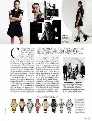 Maisie Williams Elle Magazine Spain October