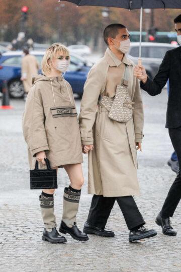 Maisie Williams Leaves Dior Show 2020 Paris Fashion Week