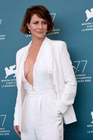 Maja Ostaszewska Never Gonna Snow Again Photocall 2020 Venice Film Festival