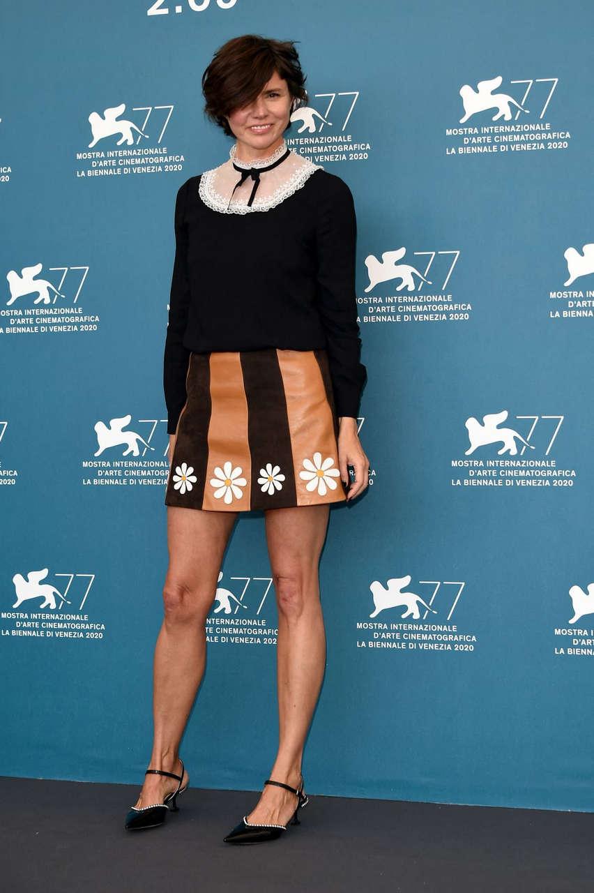 Malgorzata Szumowska Never Gonna Snow Again Photocall 2020 Venice Film Festival