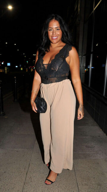 Malin Anderson Night Out Manchester