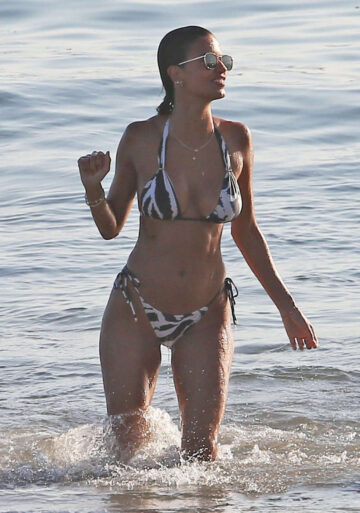 Marcela Braga Bikini Beach Santa Monica