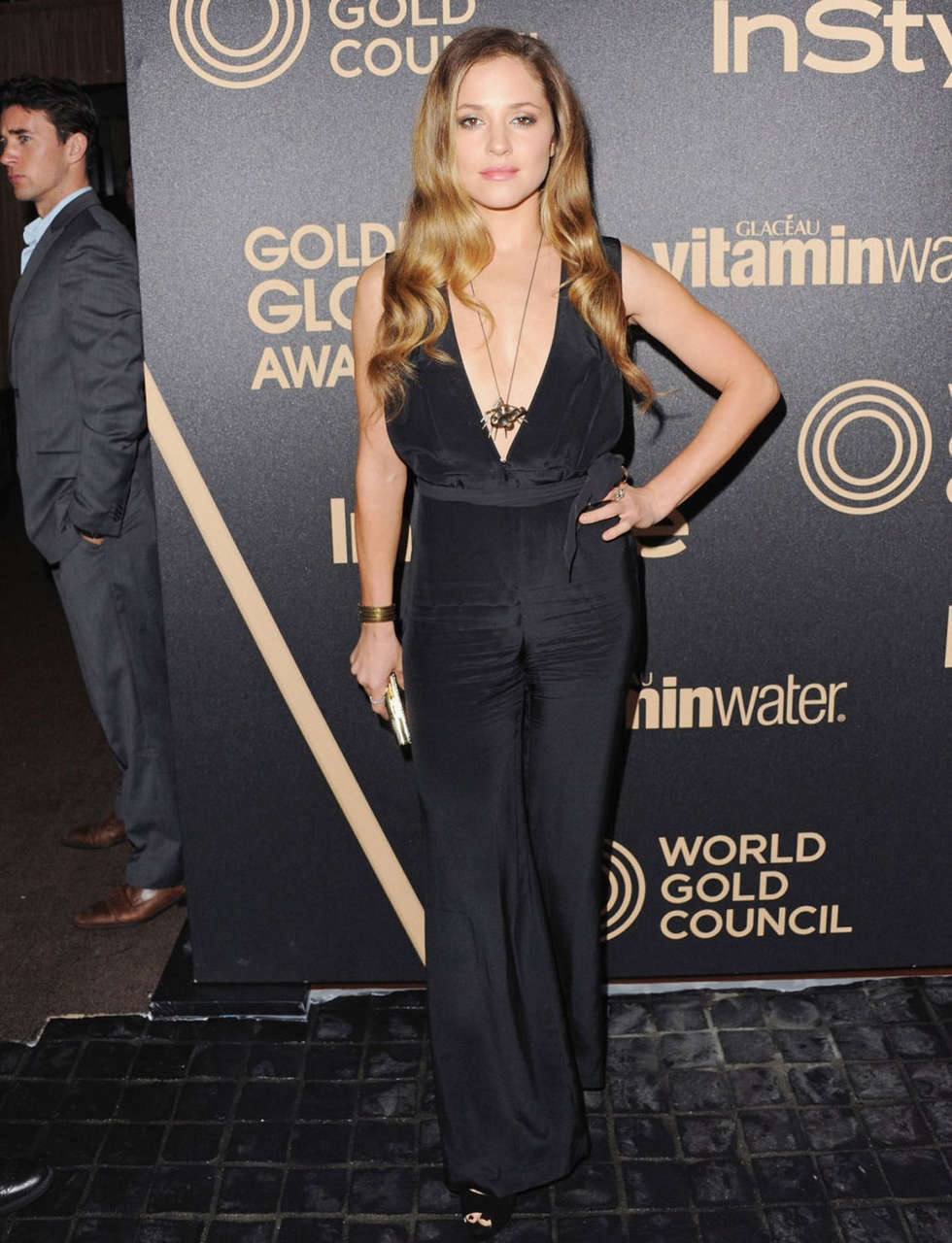 Margarita Levieva 2013 Hfpa Instyle Miss Golden Globe Party Los Angeles