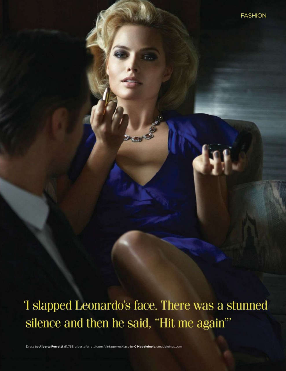 Margot Robbie Hq Magazine Uk February 2014 Issue