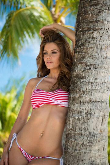 Maria Menounos Bikini Photoshoot Bora Bora