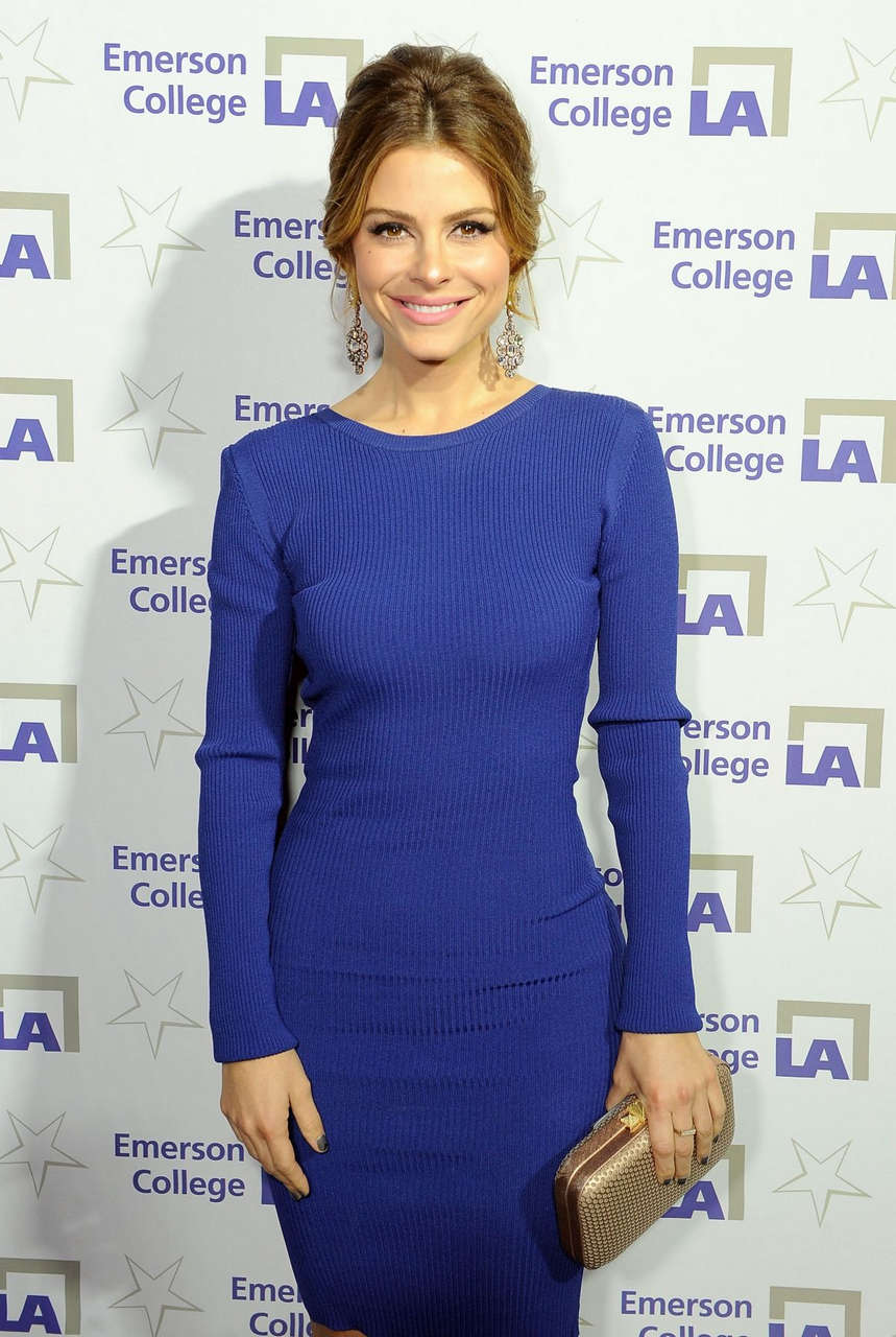 Maria Menounos Emerson College Grand Opening Gala Los Angeles