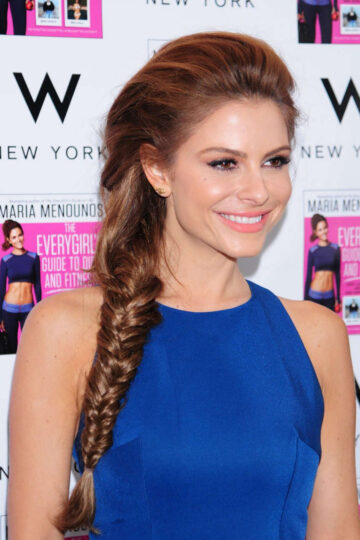 Maria Menounos Everygirls Guide To Diet Ans Fitness Book Tour New York