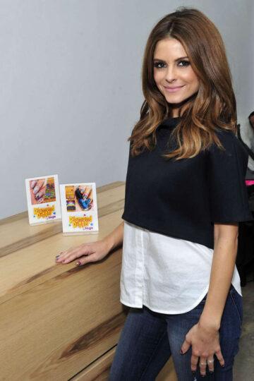 Maria Menounos Manicure Enamel Diction Los Angeles