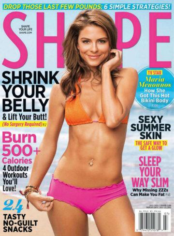 Maria Menounos Shape Magazine July 2012 Issue