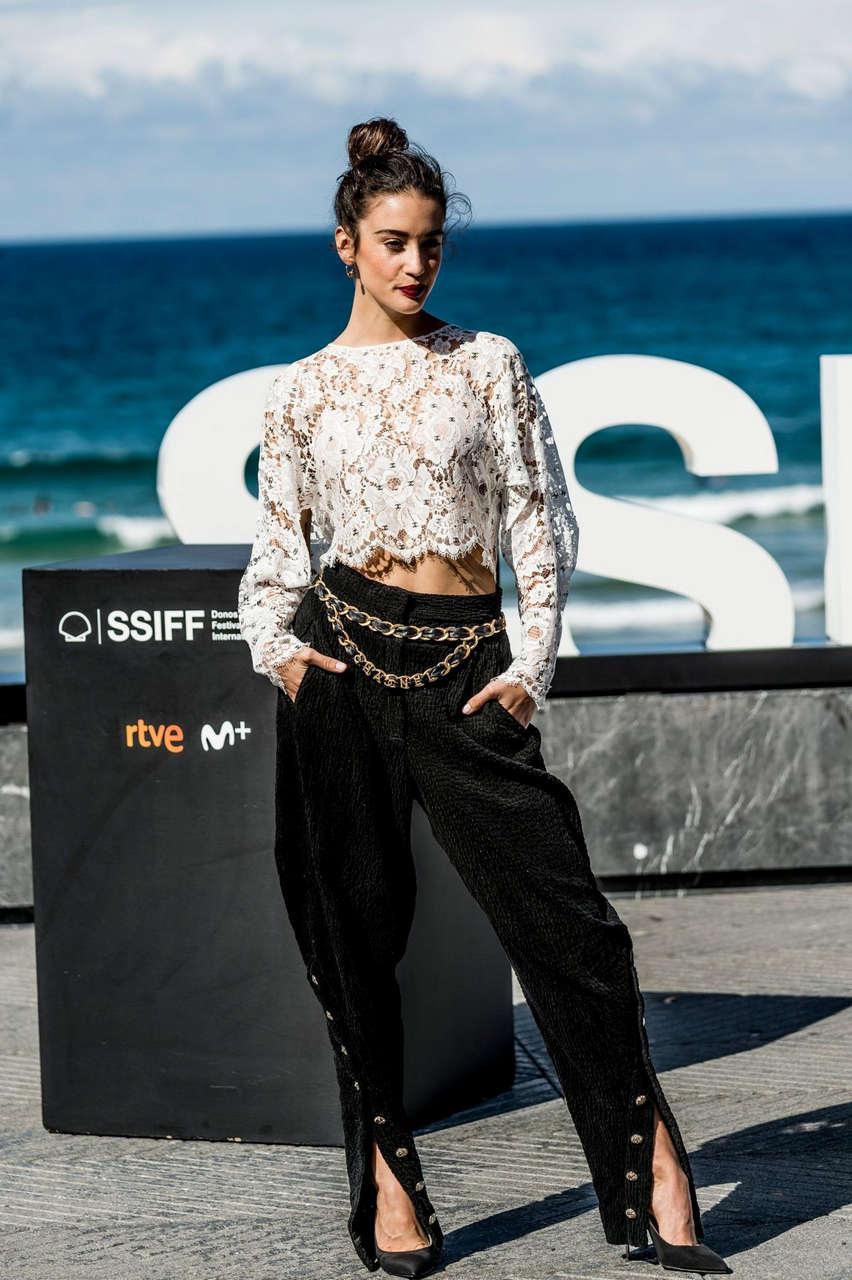 Maria Pedraza El Verano Que Vivimos Photocall 2020 San Sebastian International Film Festival