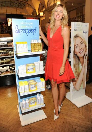 Maria Sharapova Promotes Supergoop Sephora 5th Ave New York