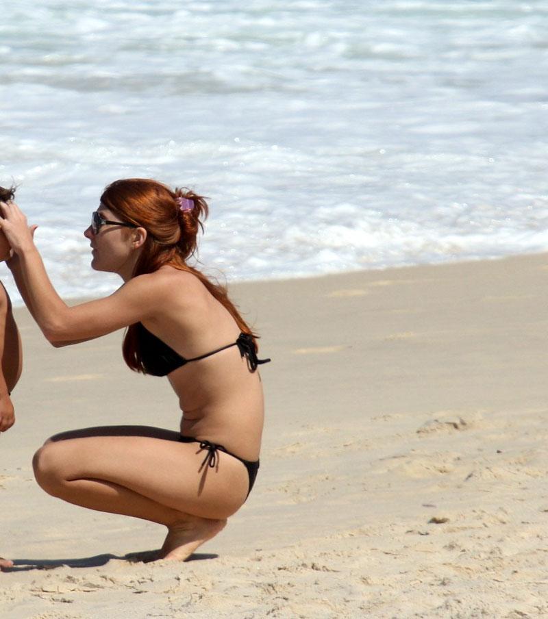 Mariah Rocha Bikini Ipanema Beach Rio De Janeiro