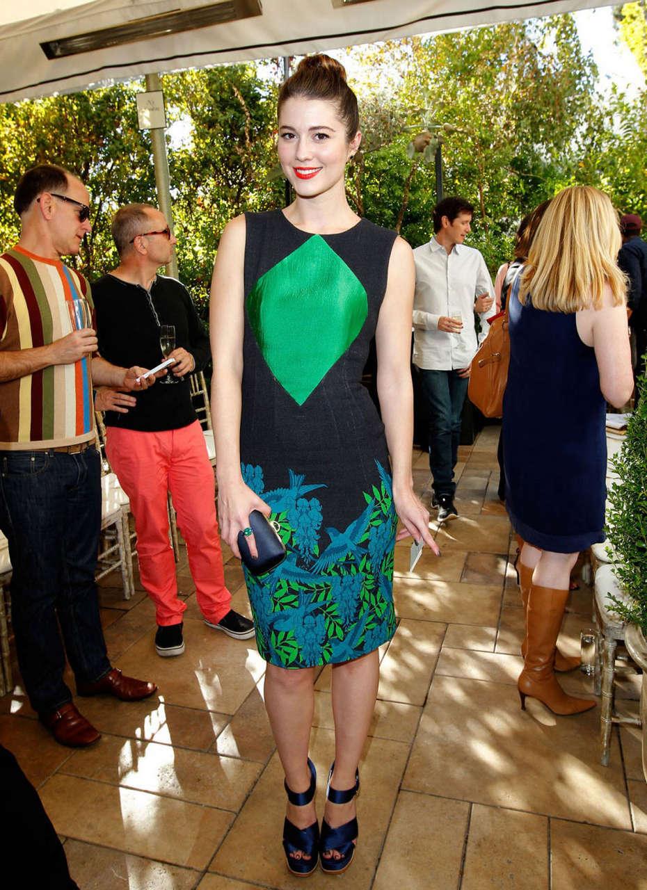 Mary Elizabeth Winstead Cfda Vogue Fashion Fund Event Los Angeles