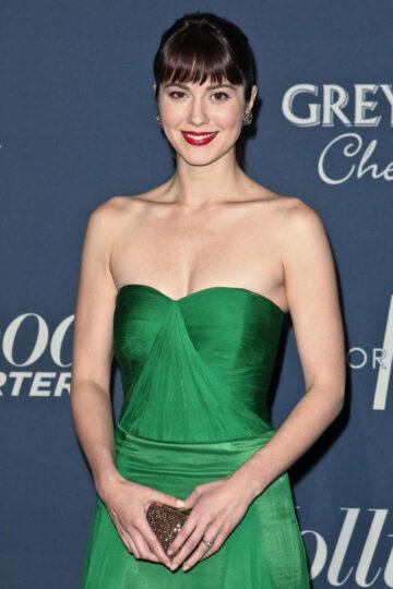 Mary Elizabeth Winstead Hollywood Reporters Nominees Night Los Angeles