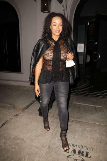 Masika Kalysha Night Out West Hollywood