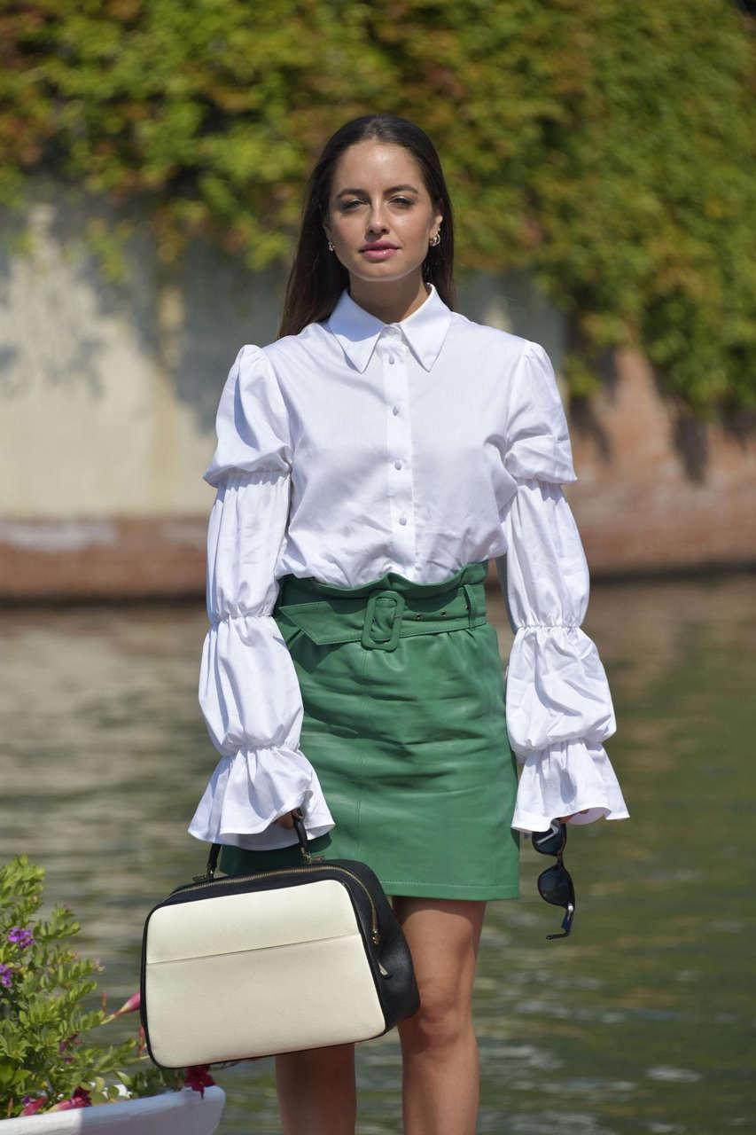 Matilde Gioli Arrives Hotel Excelsior 2020 Venice Film Festival