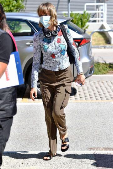 Maya Hawke Arrives Venice Airport