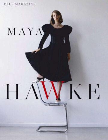 Maya Hawke Elle Magazine Spain October