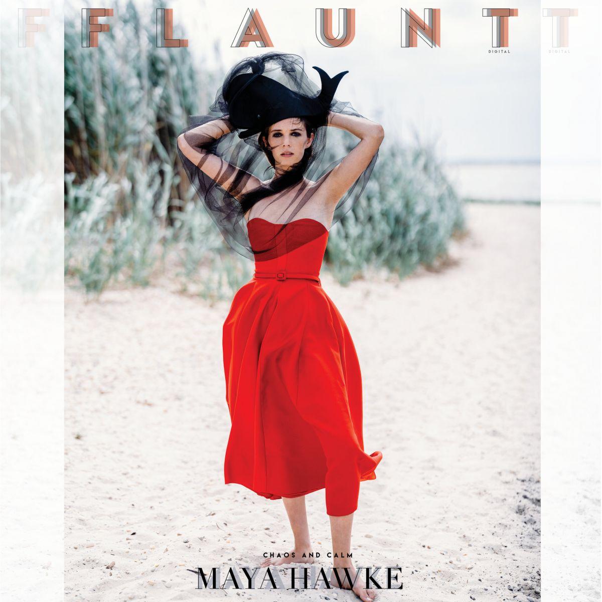 Maya Hawke For Flaunt Magazine