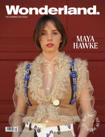 Maya Hawke Lwonderland Magazine Summer