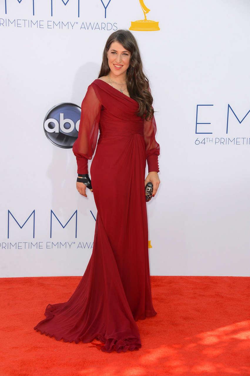 Mayim Bialik 64th Primetime Emmy Awards Los Angeles