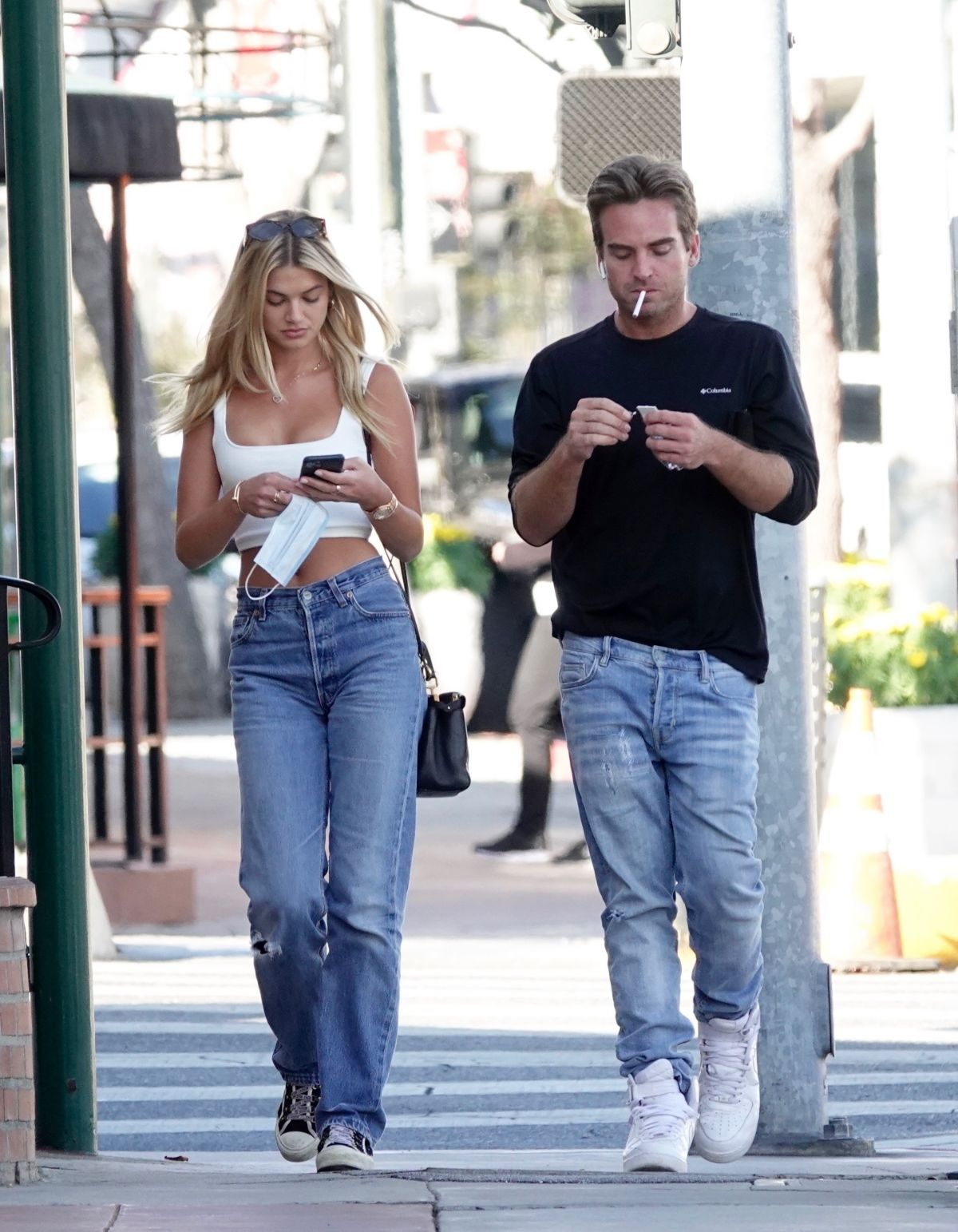 Megan Blake Irwin Out With Friend Los Angeles
