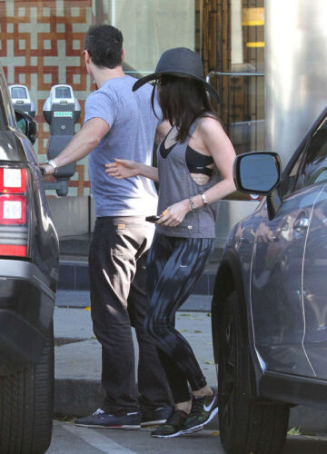 Megan Fox Out About West Hollywood