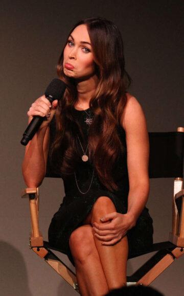 Megan Fox Press Conference Apple Soho Store Manhattan