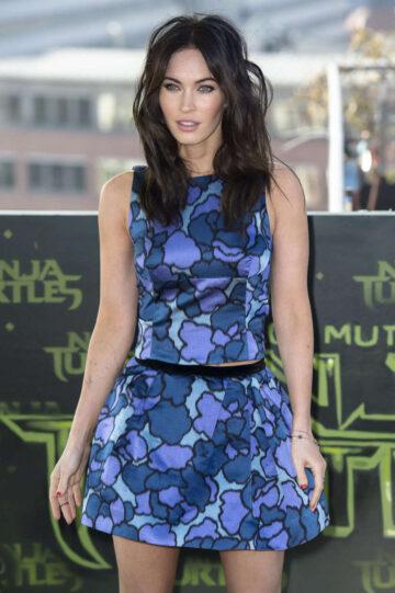 Megan Fox Teenage Mutant Ninja Turtles Photocall Berlin