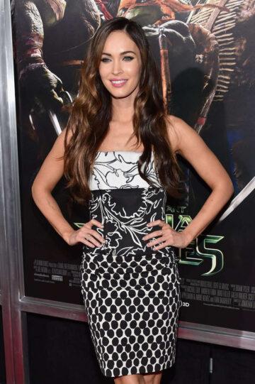 Megan Fox Teenage Mutant Ninja Turtles Premiere New York