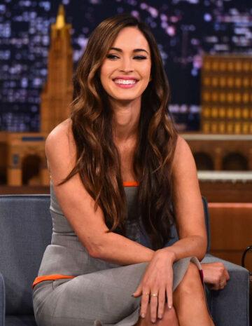 Megan Fox Tonight Show Starring Jimmy Fallon New York