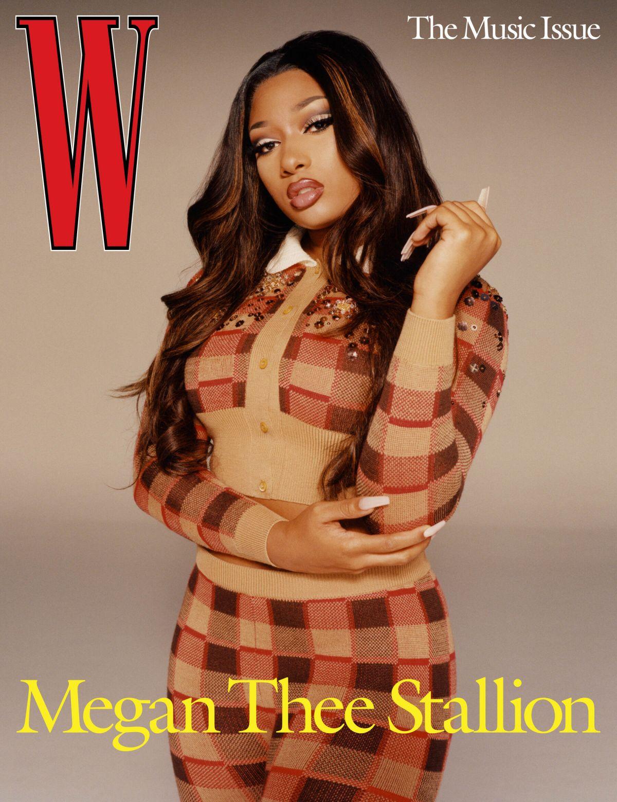 Megan Thee Stallion W Magazine Music Issue