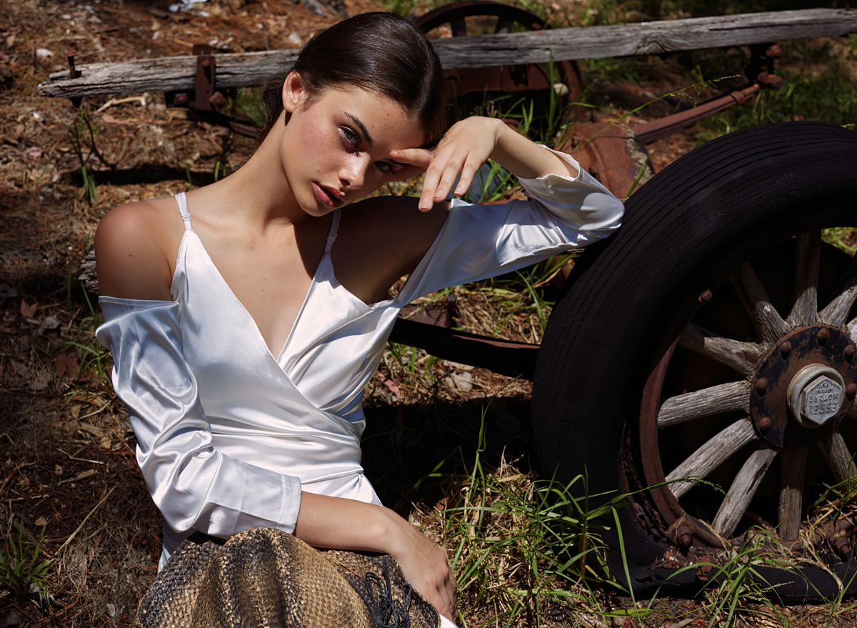 Meika Woollard For Fashion Editorials September