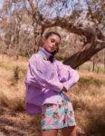 Meika Woollard For Pump Fashion Magazine June