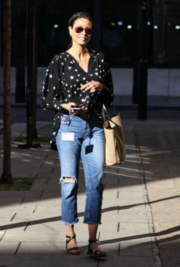 Melanie Sykes Leave Bbc Studios London