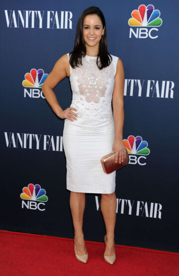 Melissa Fumero Nbc Vanity Fair 2014 2015 Tv Season Party West Hollywood