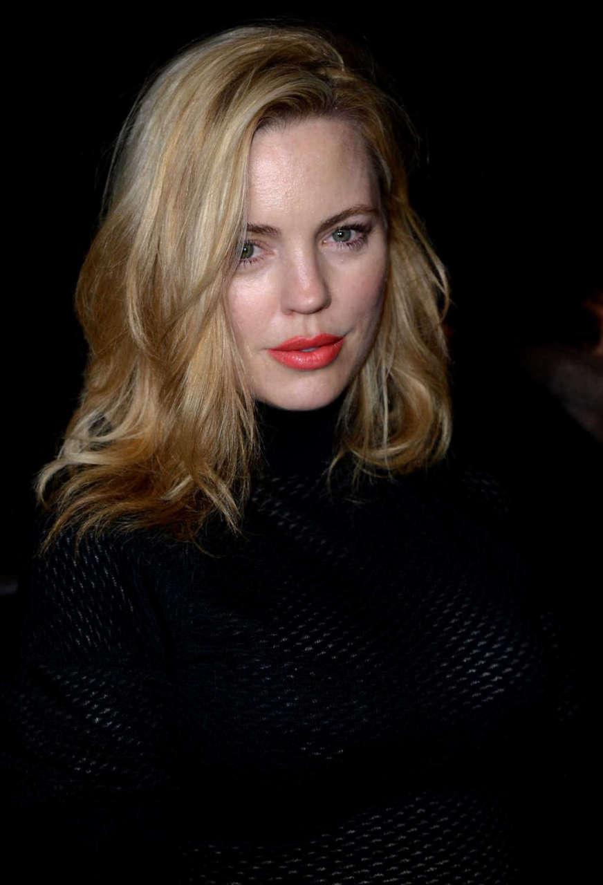 Melissa George Nina Ricci Fashion Show Paris