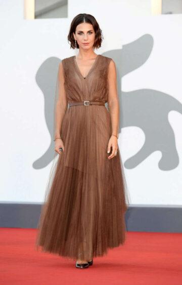 Michelle Carpente 2020 Venice Film Festival Closing Ceremony