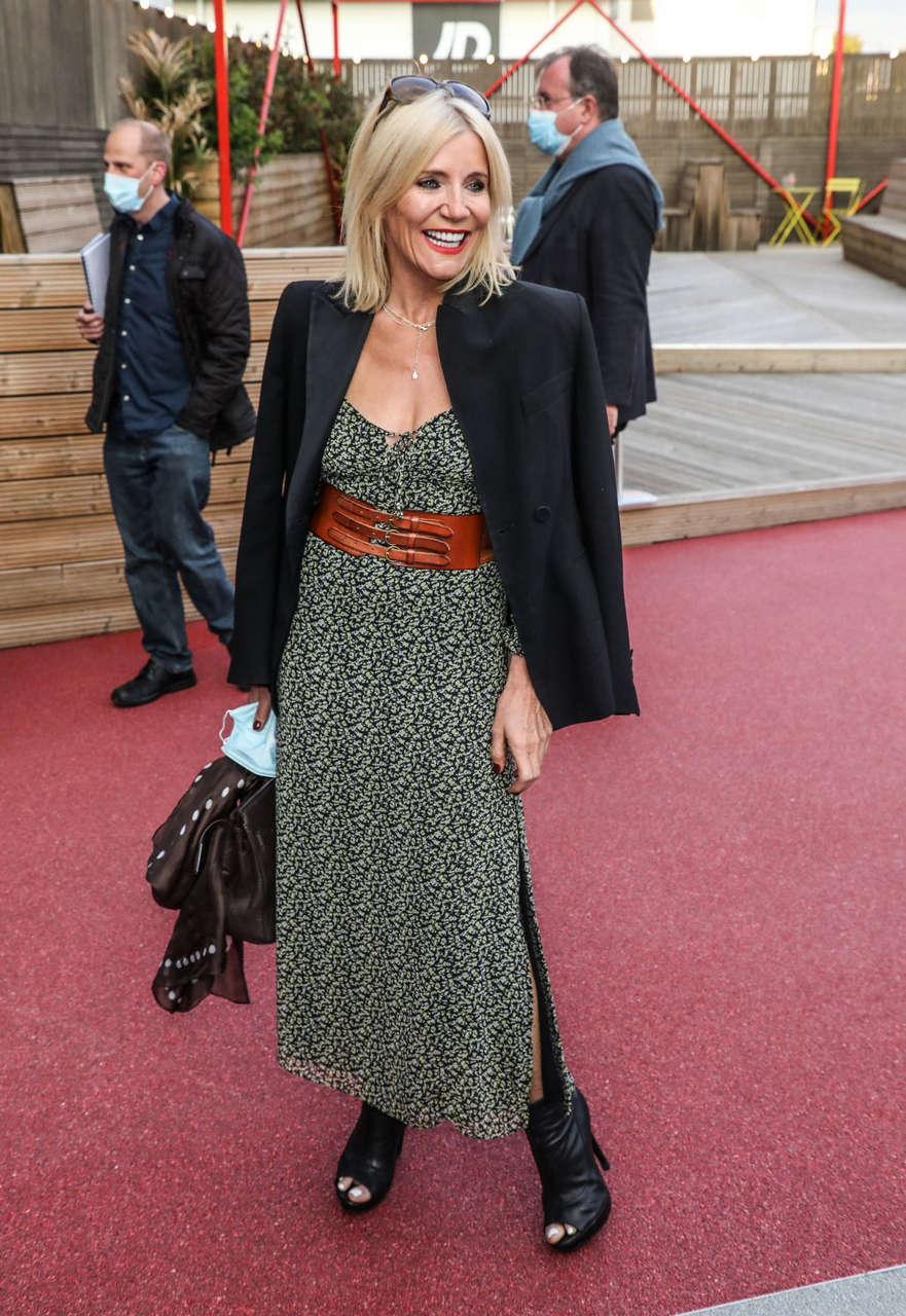 Michelle Collins Press Night Sleepless Troubadour Wembley Park Theatre